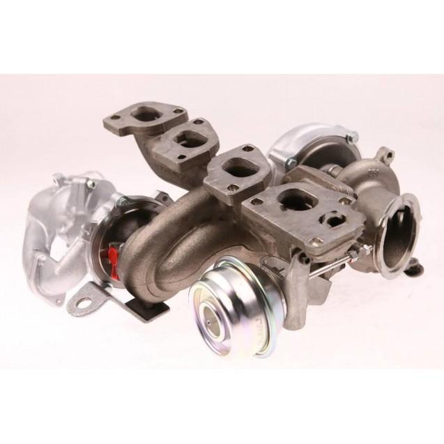 Турбокомпрессор - 1000 988 0005 | 55215256 GM Cadillac BLS 1.9 D