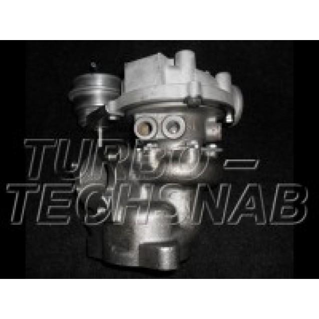 Турбина-гибрид на подшипниках скольжения (втулках) T&